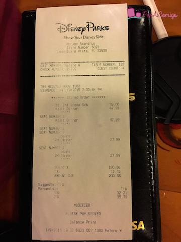 Conta restaurante Akershus