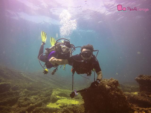 Mergulho em Salvador